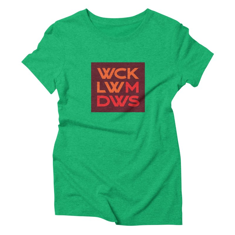 Wicklow Meadows - WCKLWMDWS Women's Triblend T-Shirt by 144design