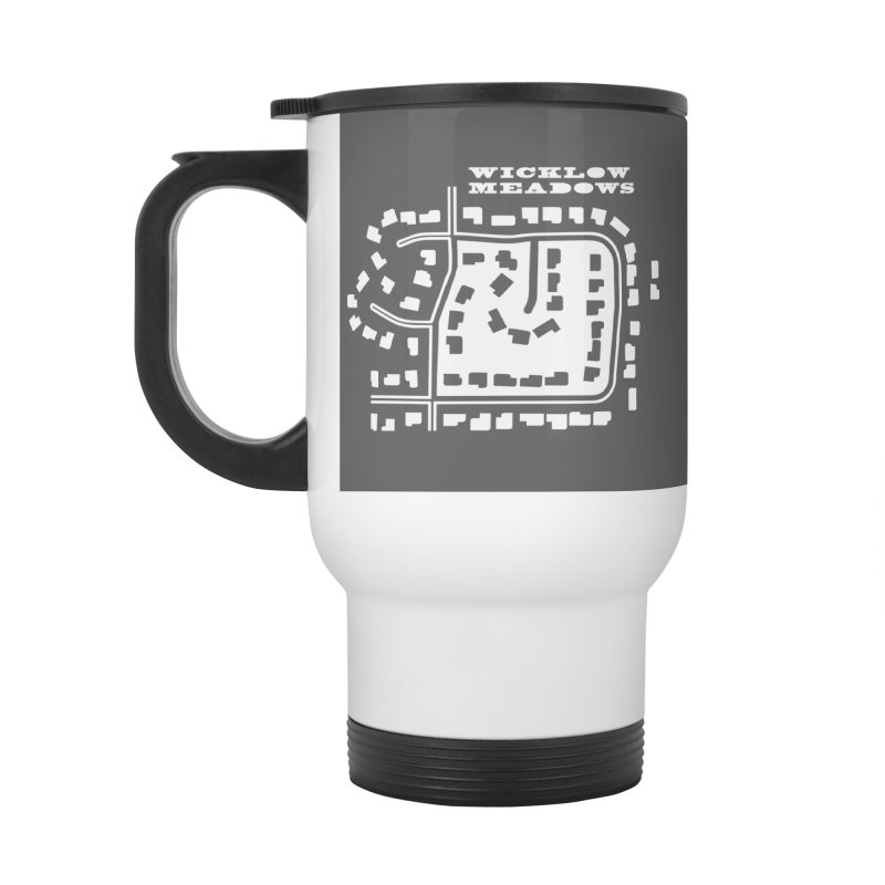 Wicklow Meadows (map) Accessories Mug by 144design