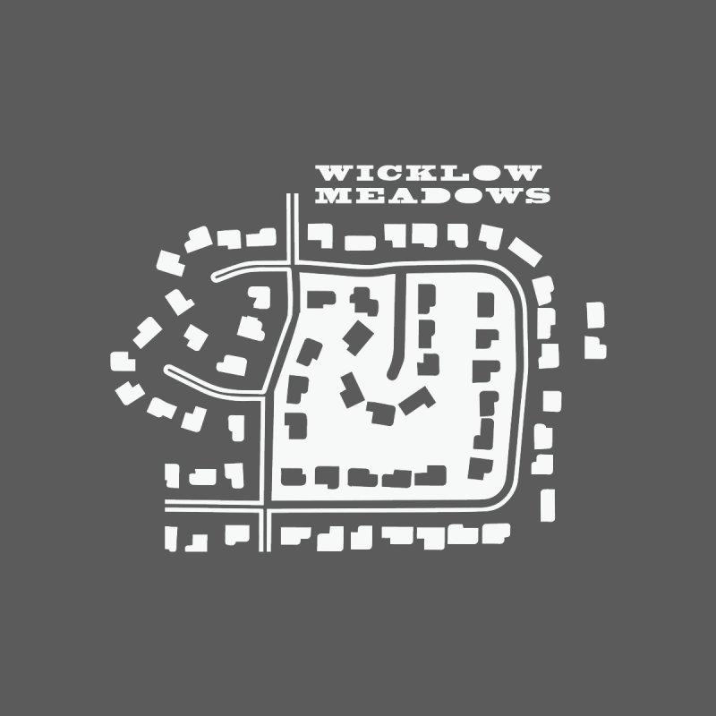 Wicklow Meadows (map) Women's Sweatshirt by 144design