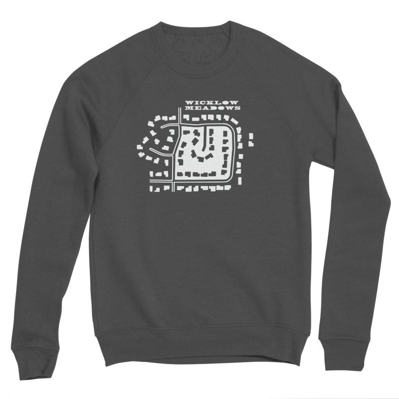 Wicklow Meadows (map) Women's Sponge Fleece Sweatshirt by 144design