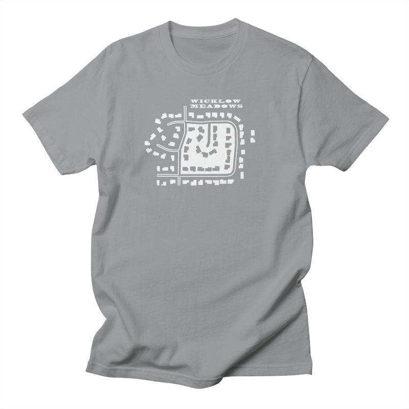 Wicklow Meadows (map) Men's Regular T-Shirt by 144design