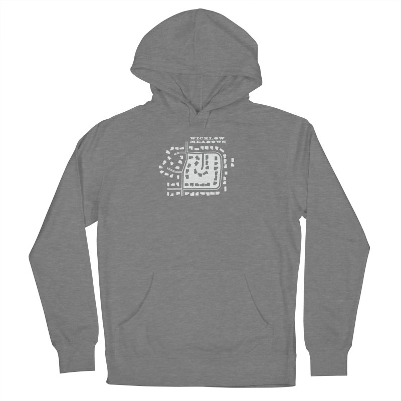 Wicklow Meadows (map) Women's Pullover Hoody by 144design