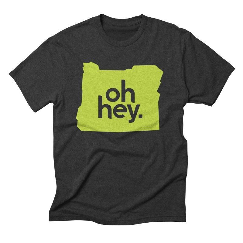 Oh Hey : Oregon Men's T-Shirt by 144design