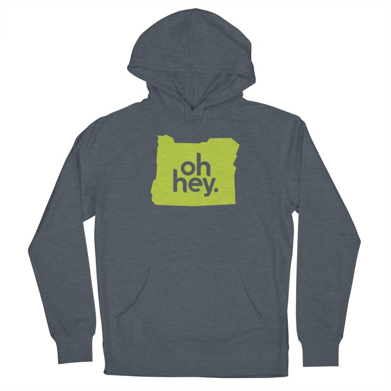 Oh Hey : Oregon Men's Pullover Hoody by 144design