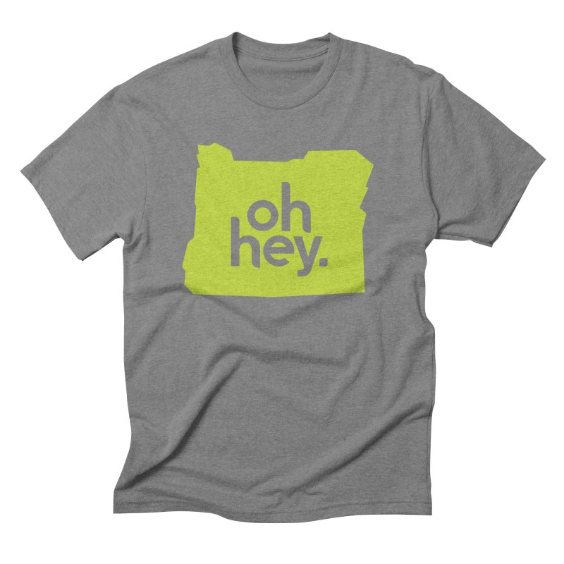 Oh Hey : Oregon Men's T-Shirt by 144design