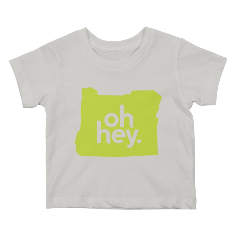 Oh Hey : Oregon Kids Baby T-Shirt by 144design