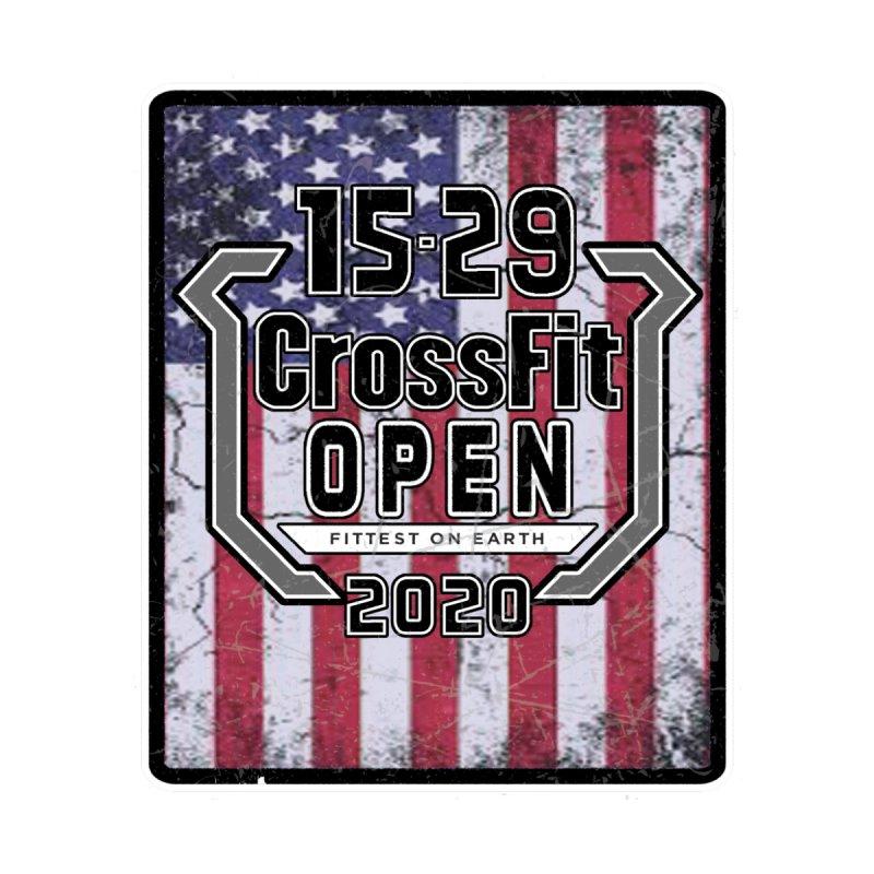 2020 Open Flag Logo by 1529 CrossFit Merch