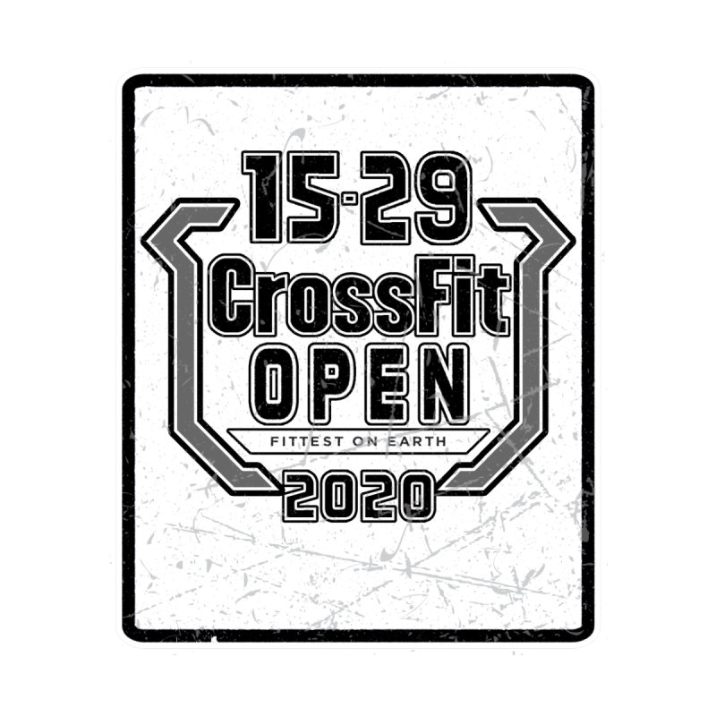 2020 Open Transparent Logo by 1529 CrossFit Merch