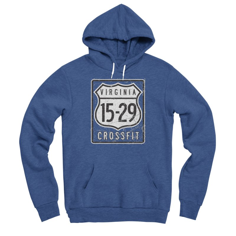 1529 OG Logo Women's Sponge Fleece Pullover Hoody by 1529 CrossFit Merch