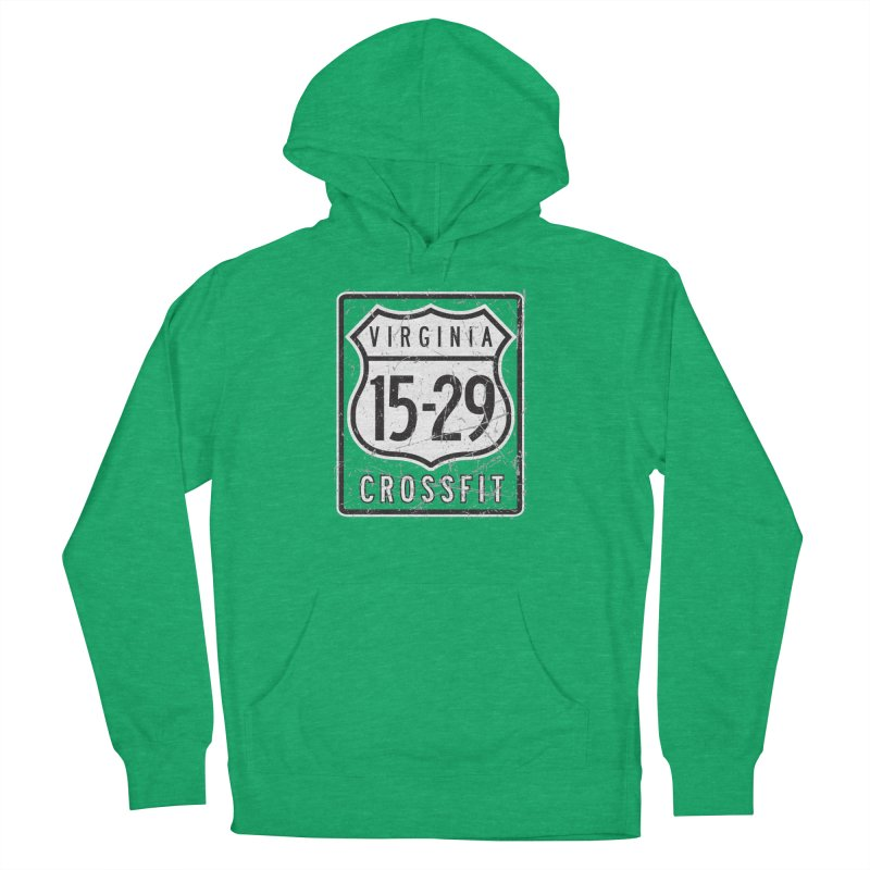 1529 OG Logo Women's French Terry Pullover Hoody by 1529 CrossFit Merch
