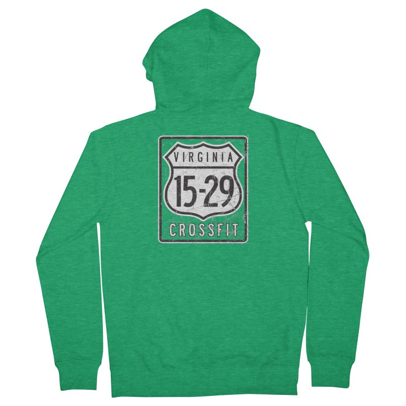 1529 OG Logo Men's French Terry Zip-Up Hoody by 1529 CrossFit Merch