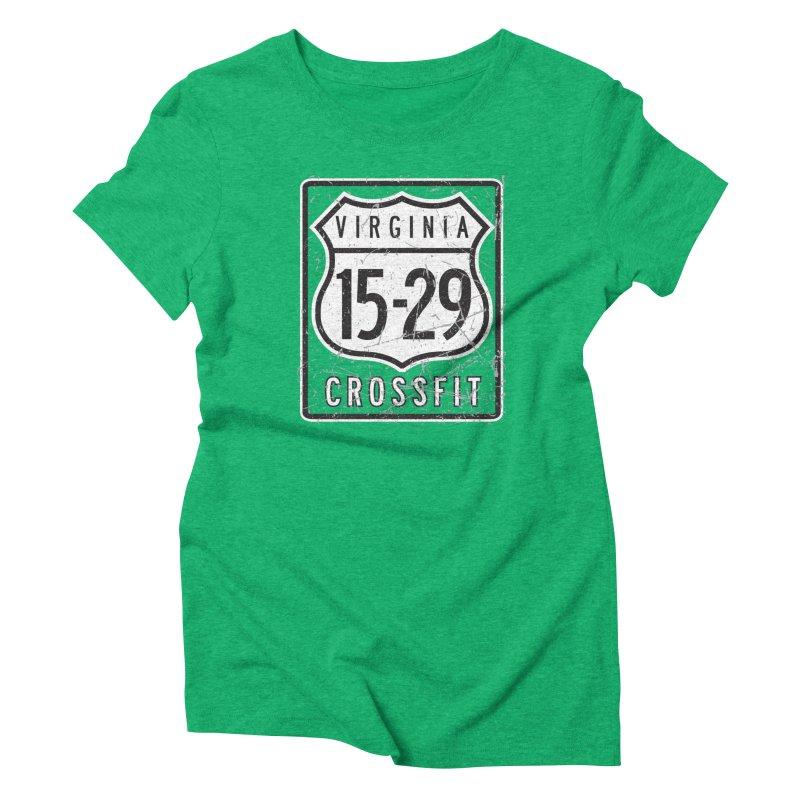 1529 OG Logo Women's Triblend T-Shirt by 1529 CrossFit Merch