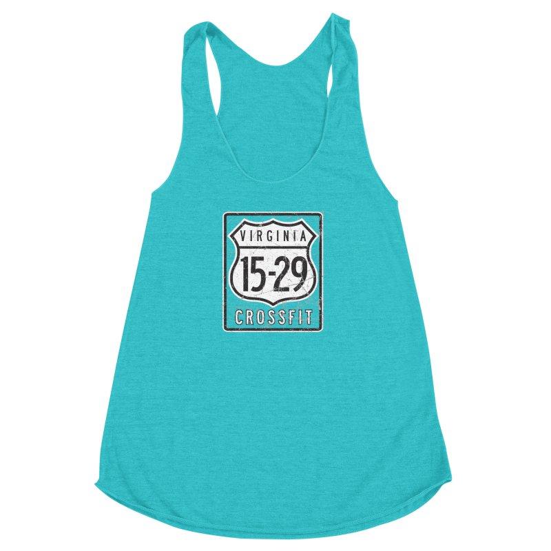1529 OG Logo Women's Racerback Triblend Tank by 1529 CrossFit Merch