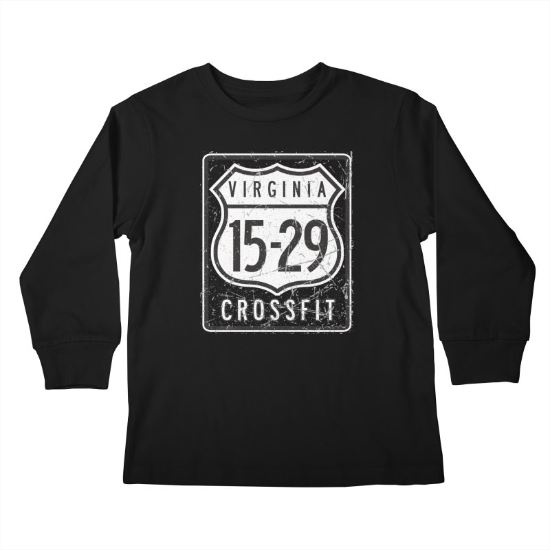 1529 OG Logo Kids Longsleeve T-Shirt by 1529 CrossFit Merch