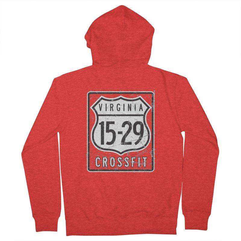 1529 OG Logo Men's Zip-Up Hoody by 1529 CrossFit Merch