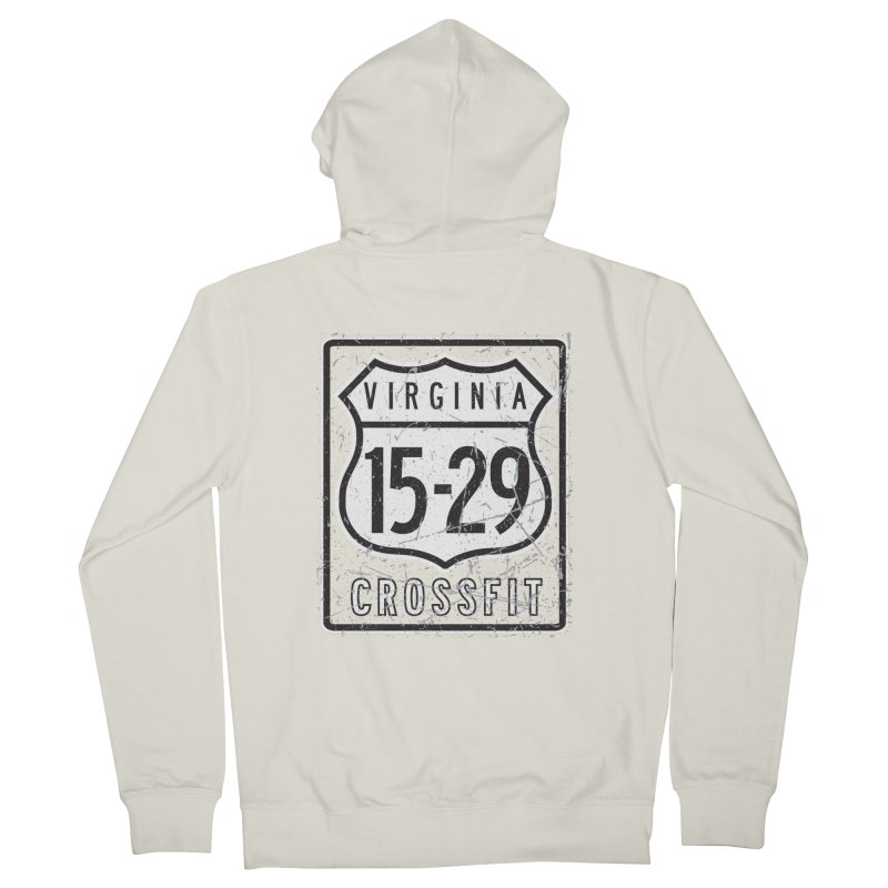 1529 OG Logo Men's Zip-Up Hoody by 1529 CrossFit Merch