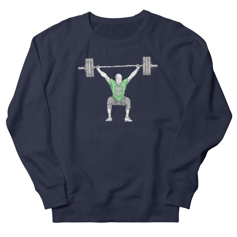 1529 Lifter Men's French Terry Sweatshirt by 1529 CrossFit Merch