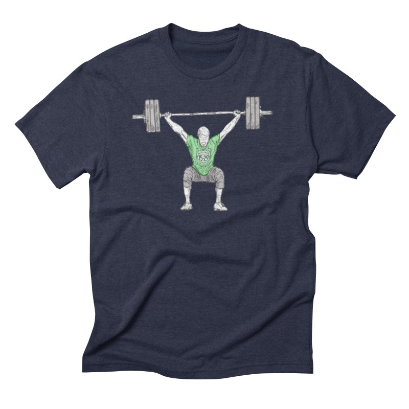 1529 Lifter Men's Triblend T-Shirt by 1529 CrossFit Merch