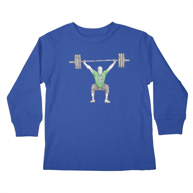 1529 Lifter Kids Longsleeve T-Shirt by 1529 CrossFit Merch