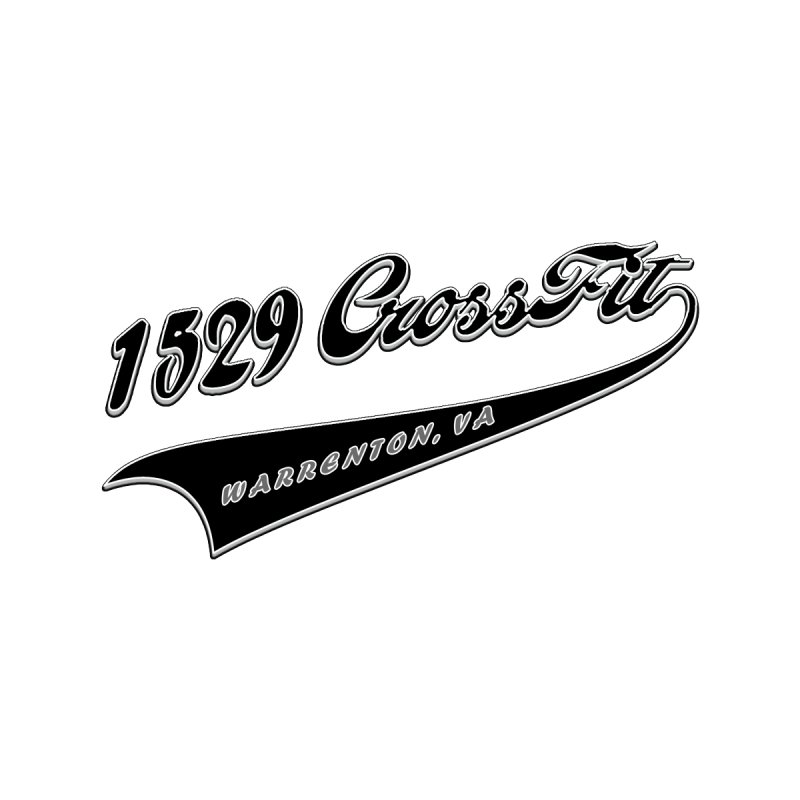 1529 Banner Logo - Black Men's T-Shirt by 1529 CrossFit Merch