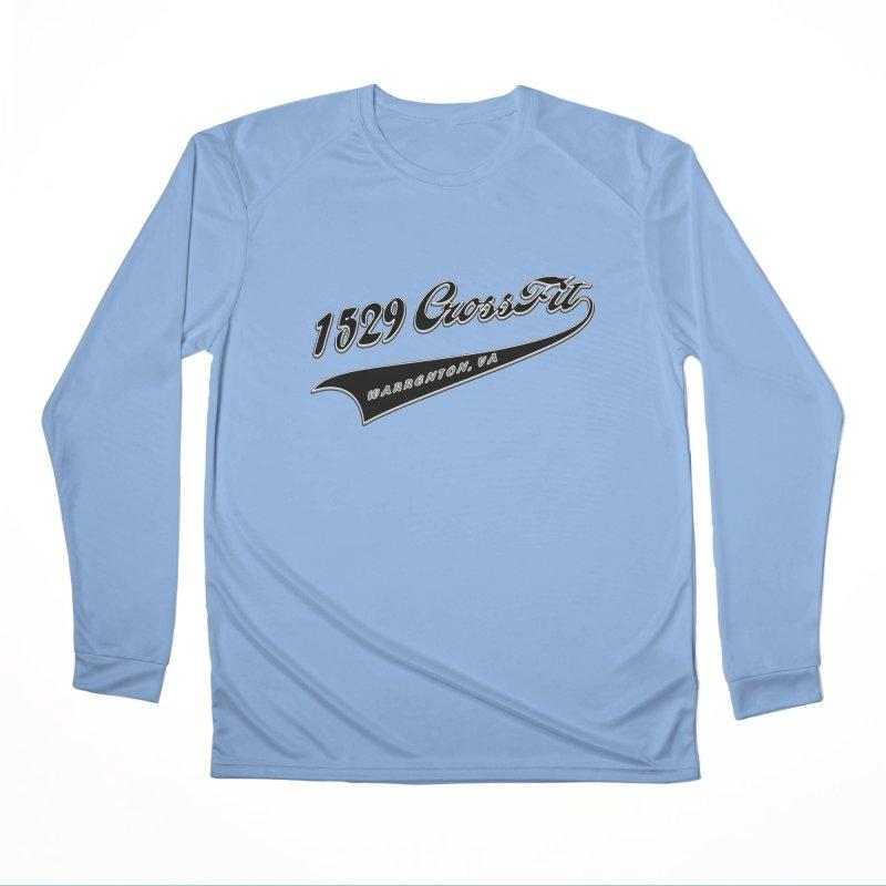 1529 Banner Logo - Black Women's Longsleeve T-Shirt by 1529 CrossFit Merch