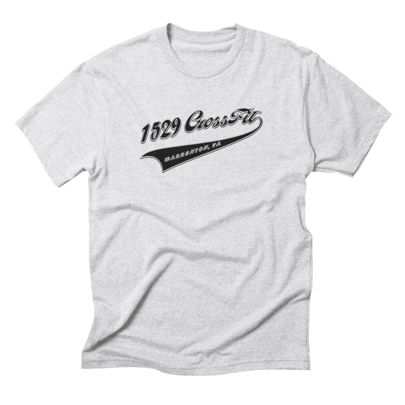 1529 Banner Logo - Black Men's Triblend T-Shirt by 1529 CrossFit Merch