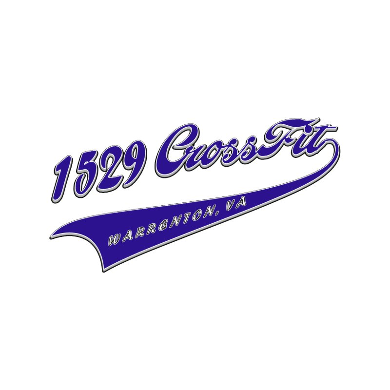 1529 Banner Logo- Blue   by 1529 CrossFit Merch