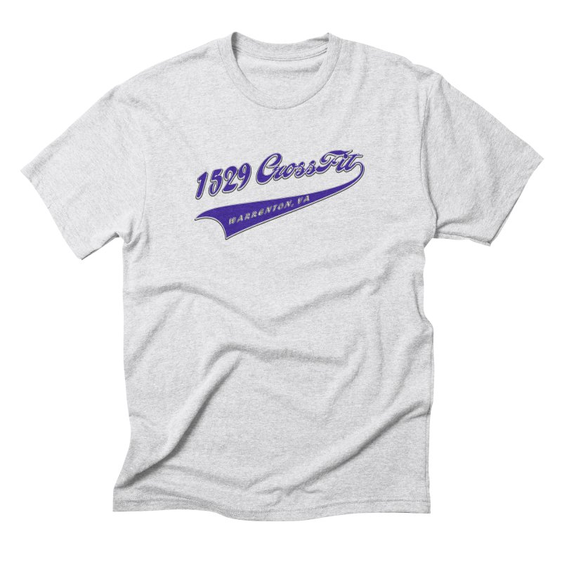 1529 Banner Logo- Blue Men's Triblend T-Shirt by 1529 CrossFit Merch