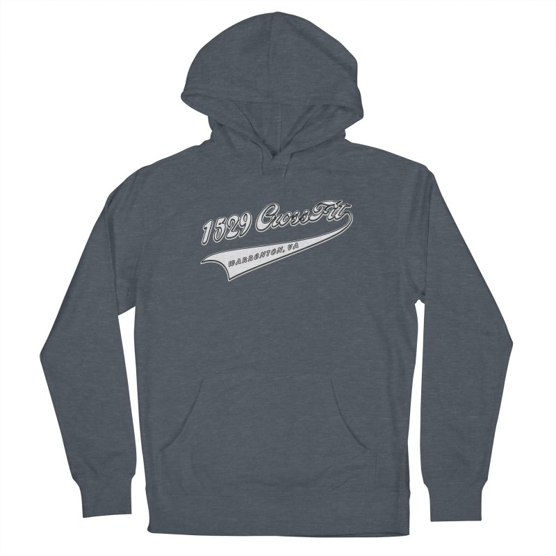 1529 Banner Logo- White Women's French Terry Pullover Hoody by 1529 CrossFit Merch