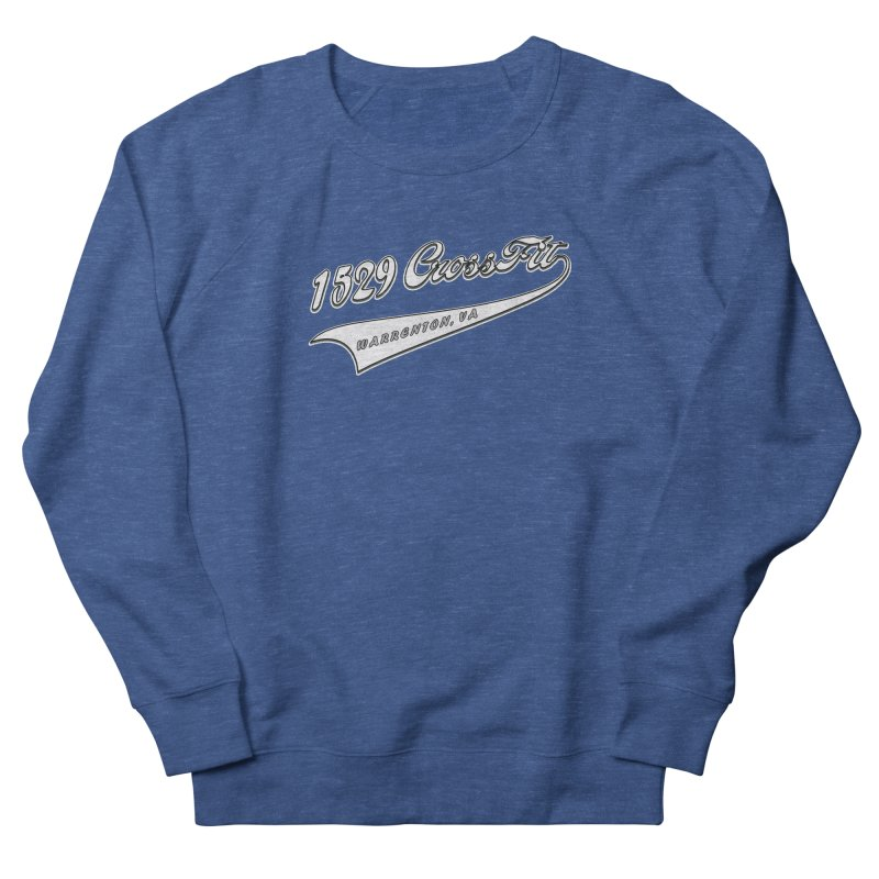 1529 Banner Logo- White Men's Sweatshirt by 1529 CrossFit Merch