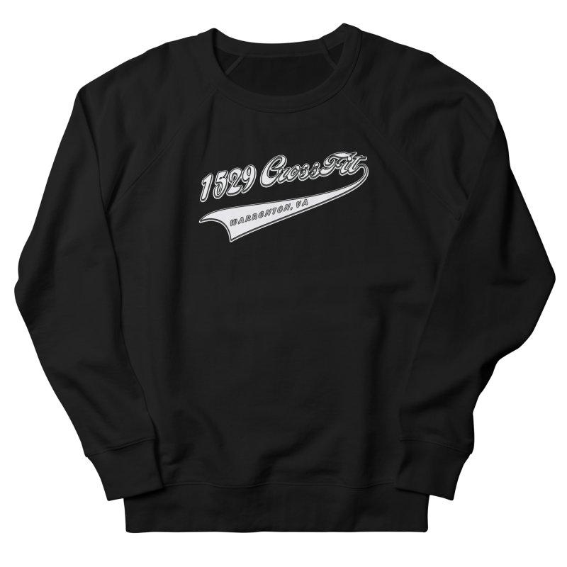 1529 Banner Logo- White Men's Sweatshirt by 1529 CrossFit Merch