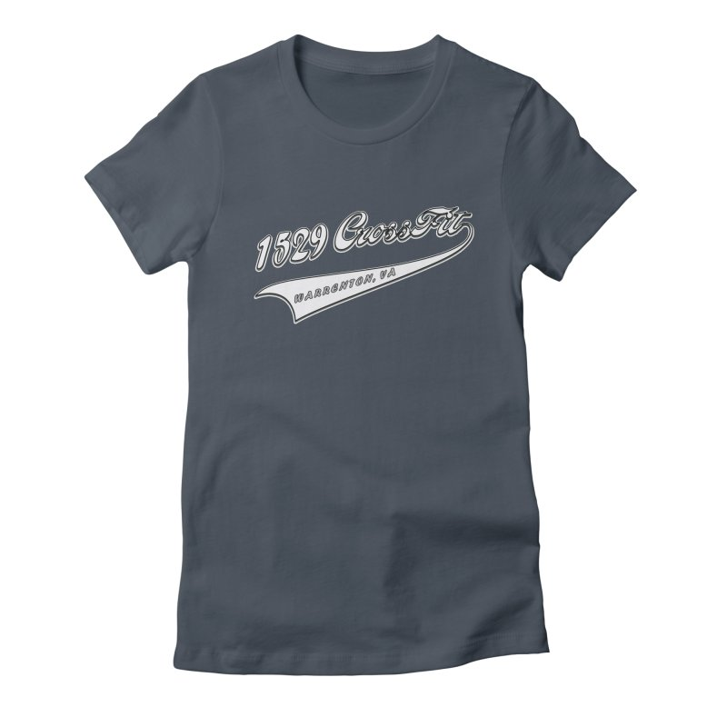 1529 Banner Logo- White Women's T-Shirt by 1529 CrossFit Merch