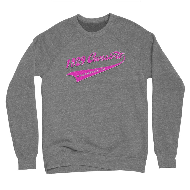 1529 Banner -Pink Men's Sweatshirt by 1529 CrossFit Merch