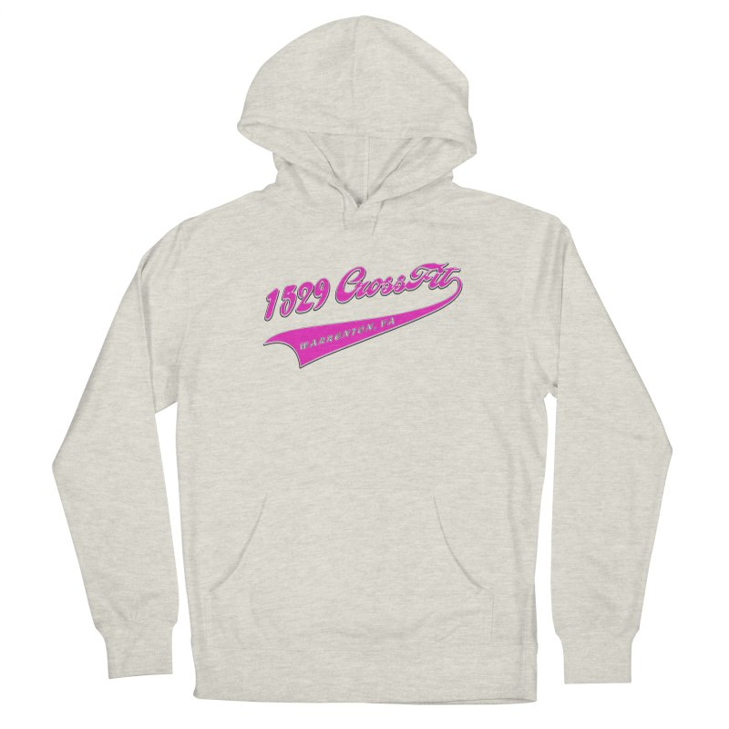 1529 Banner -Pink Men's French Terry Pullover Hoody by 1529 CrossFit Merch
