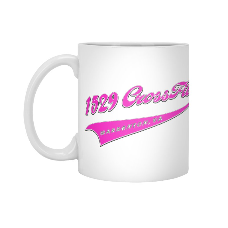 1529 Banner -Pink Accessories Standard Mug by 1529 CrossFit Merch