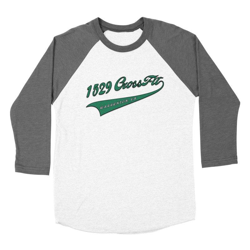 1529 Banner_Green Men's Baseball Triblend Longsleeve T-Shirt by 1529 CrossFit Merch