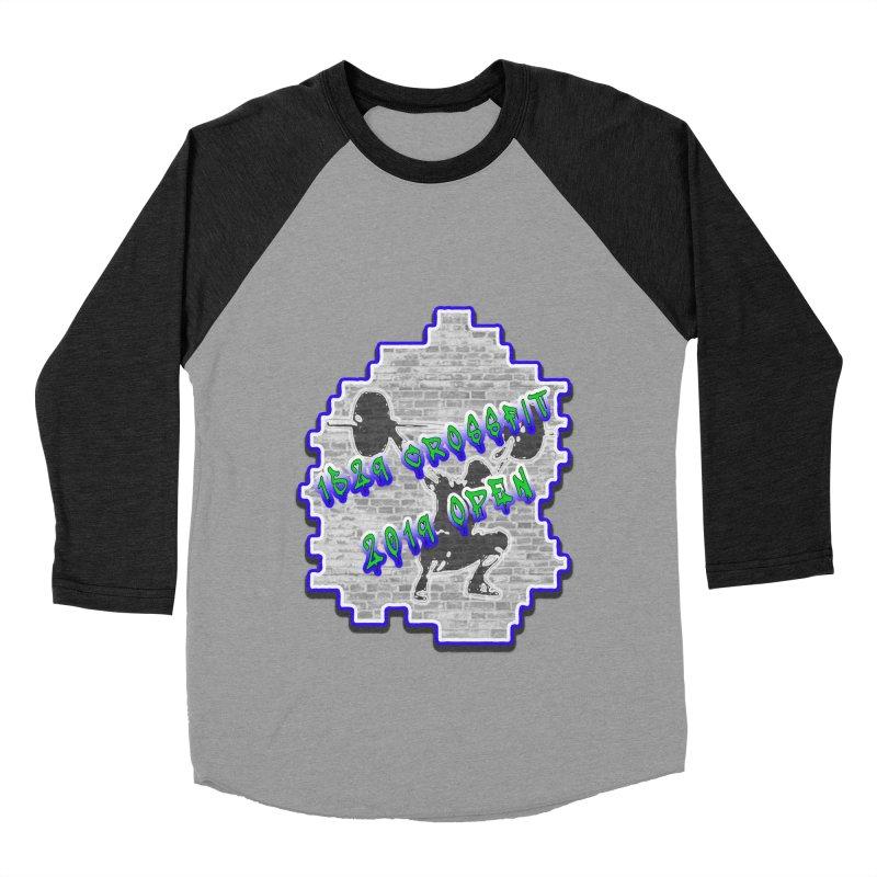 Open 2019 Men's Baseball Triblend Longsleeve T-Shirt by 1529 CrossFit Merch