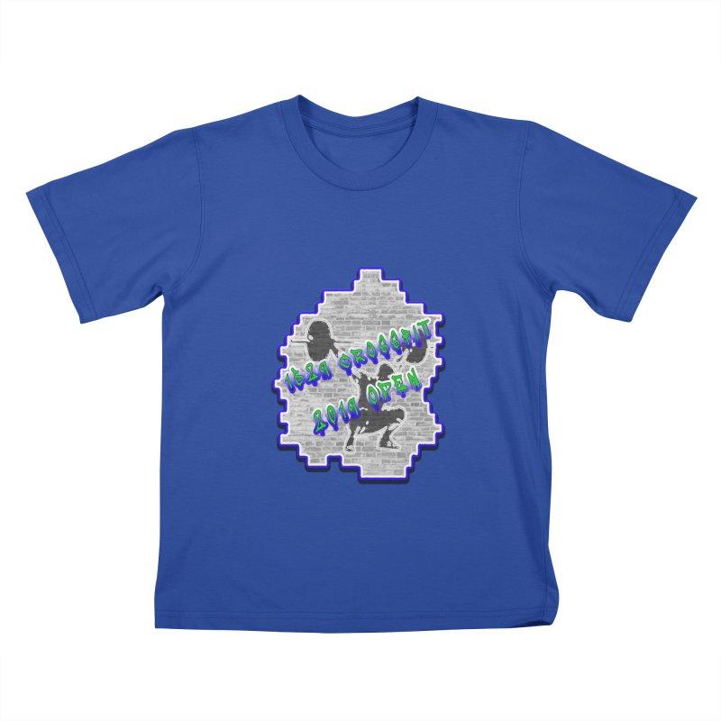 Open 2019 Kids T-Shirt by 1529 CrossFit Merch