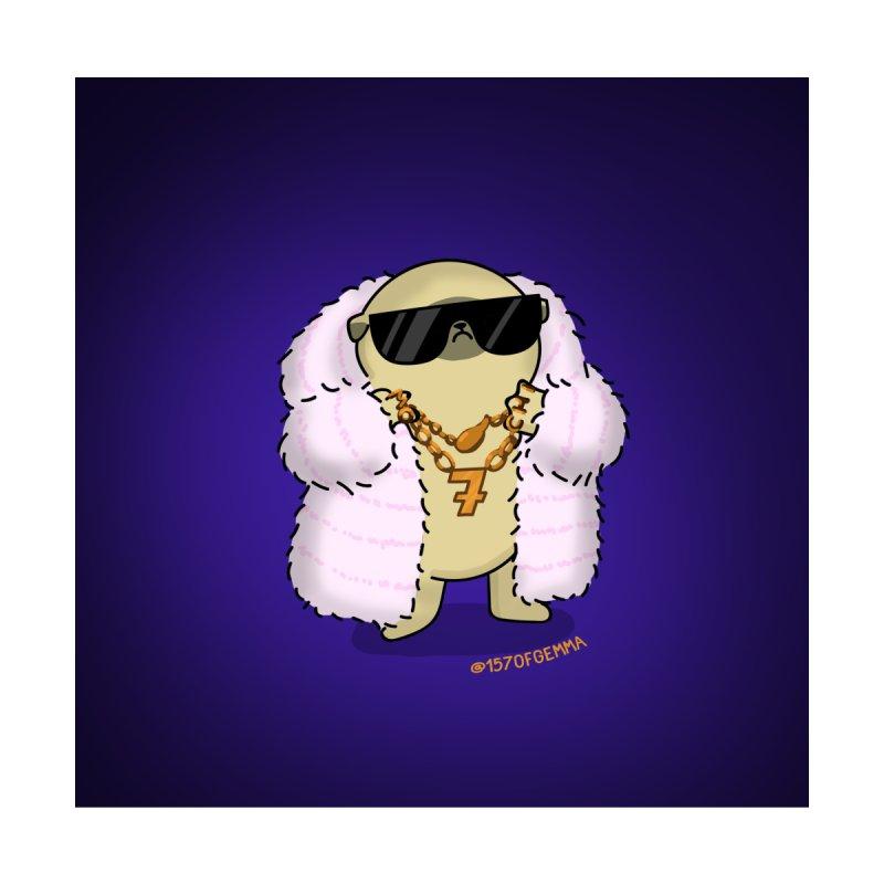 Cool Mochi the pug Women's Sweatshirt by 157ofgemma