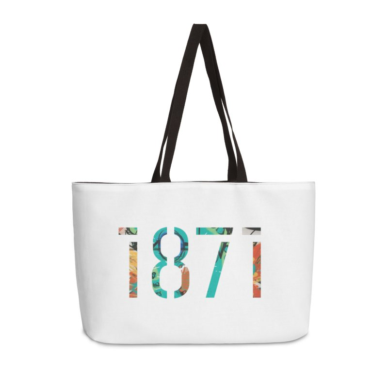 The Stencil Accessories Weekender Bag Bag by 1871's Shop