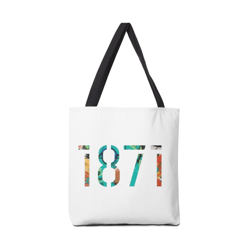 The Stencil Accessories Tote Bag Bag by 1871's Shop