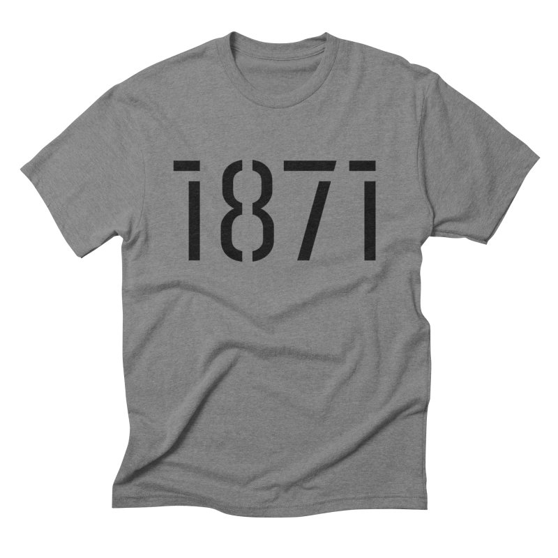 The Stencil Men's T-Shirt by 1871's Shop