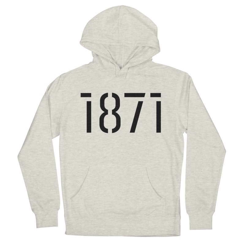 The Stencil Women's Pullover Hoody by 1871's Shop