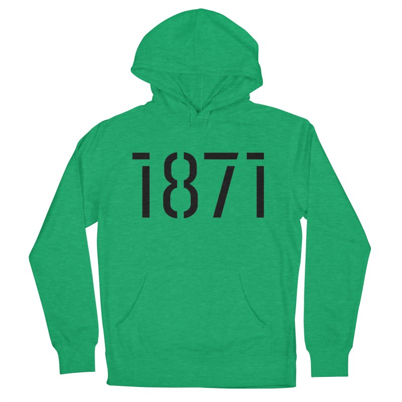 The Stencil Men's Pullover Hoody by 1871's Shop