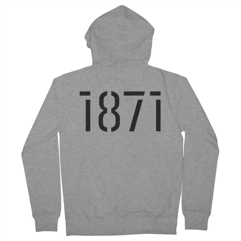 The Stencil Men's Zip-Up Hoody by 1871's Shop