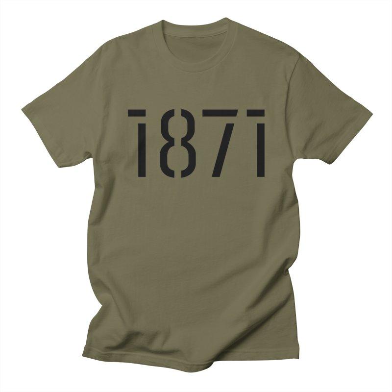 The Stencil Women's Unisex T-Shirt by 1871's Shop