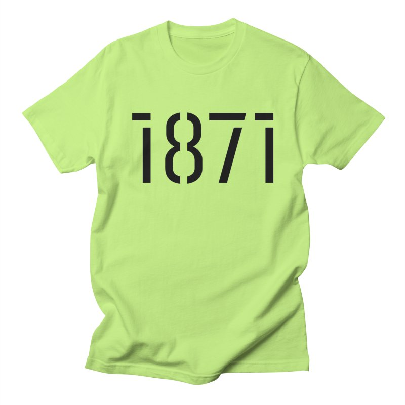 The Stencil Men's Regular T-Shirt by 1871's Shop