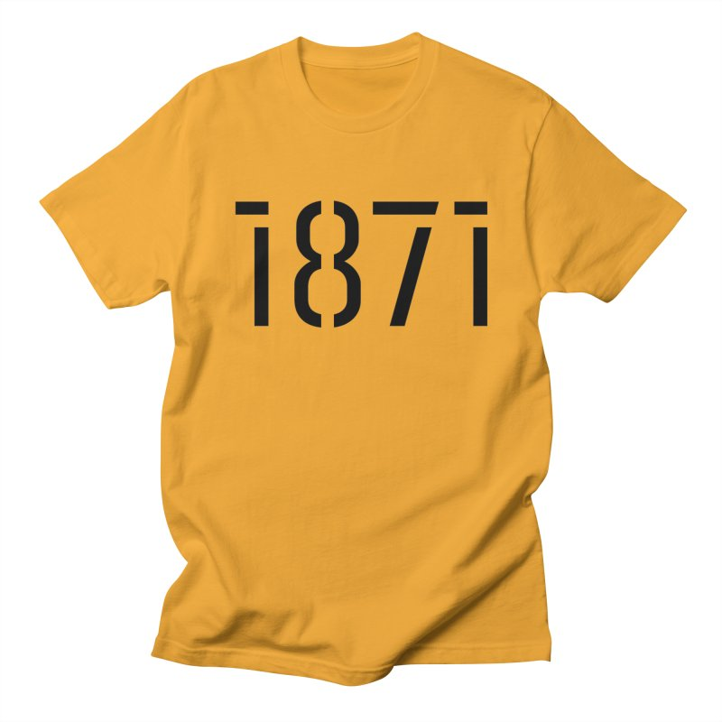 The Stencil Men's T-Shirt by 1871's Shop