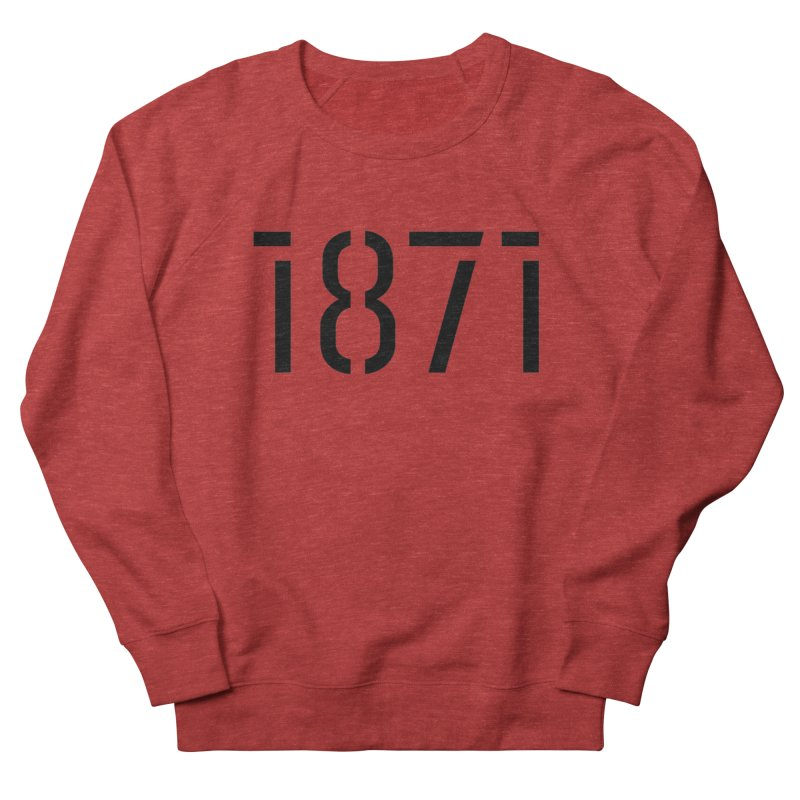 The Stencil Women's French Terry Sweatshirt by 1871's Shop