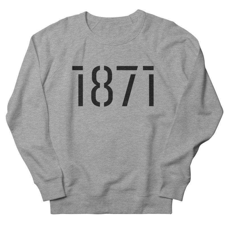 The Stencil Men's Sweatshirt by 1871's Shop